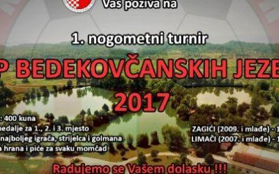 NK Tondach poziva na Cup bedekovčanskih jezera